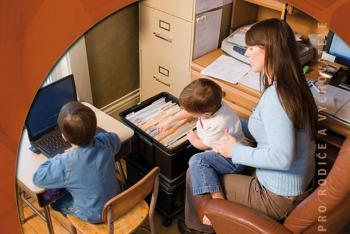 Rodina a práce - výřez z obalu knihy