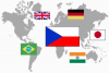 vlajky svet